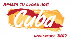 Book your spot today! Cuba, November 2017