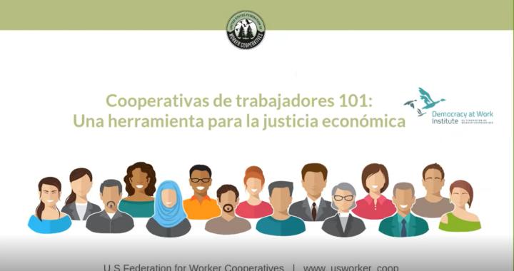 grabacion de pantalla de webinar para iniciar su cooperativa un diapositivo con dibujos de personas