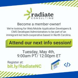 Radiate Consulting North Carolina. A tech Cooperative